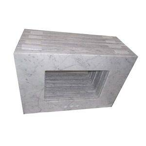 Italy Cararra White Marble Vanity Tops Manufacturer