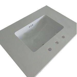 Ceramic Sink Bath Quartz Vanity Top Supplier