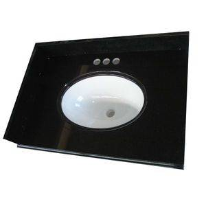Absolutely Black Granite Vanity Top Supplier