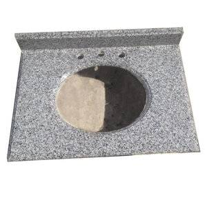 Cheap Grey Granite Vanity Top Supplier