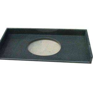 Padang Dark Granite Vanity Top Supplier