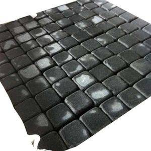Tumbled Black Basalt Cobblestone Supplier