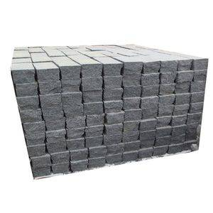 Impala Dark Granite Cubic Stone Supplier