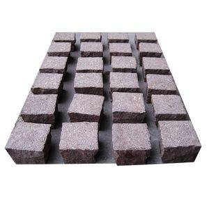 Shouning Red Granite Cobble Stone Supplier