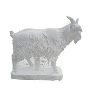Goat Marble Animal Sculpture Statue Supplier/Exporter