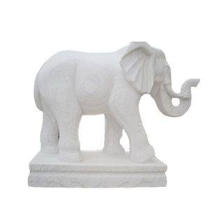 Elephant Marble Stone Sculpture Statue Supplier/Exporter