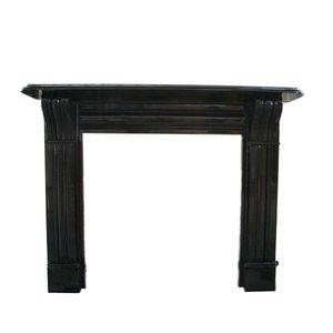 Shanxi Black Granite Fireplace Surround Supplier