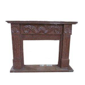 Indian Red Granite Fireplace Surround Supplier