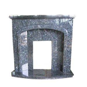 Norway Blue Granite Fireplace Surround Supplier/Exporter