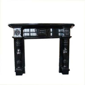 Absolutely Black Granite Fireplace Mantel Supplier/Exporter